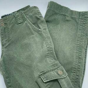 Anthropologie Sanctuary Cargo Pants Olive Green